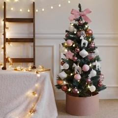 1.1M 프리미엄 북유럽풍 크리스마스트리 전구풀세트 (핑크)_(540049)