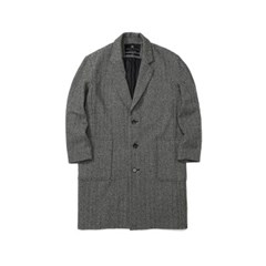 Herringbone Long Coat (U17DTJK44)_(714210)