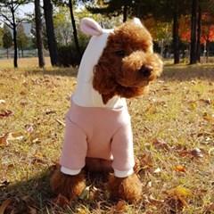 곰돌이후드티(핑크)