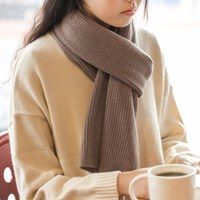 Soft Knit Muffler