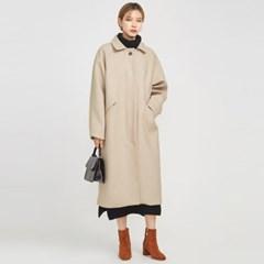 plain raglan wool coat_(794656)