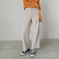 Daily corduroy crop pants