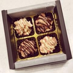 바삭- 딸기 로쉐 초콜릿 4구!