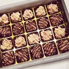 바삭- 딸기 로쉐 초콜릿!