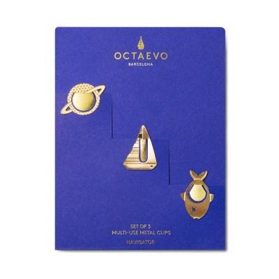 [Octaevo] Multi-use metal clips - Navigator (멀티 메탈 클립)