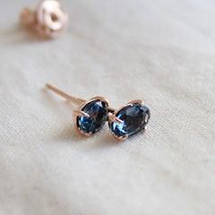 런던블루 토파즈 메리 귀걸이 london blue topaz merry earring