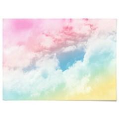 패브릭 천 포스터 F125 북유럽 풍경 파스텔 구름 no.3