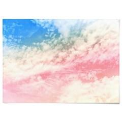 패브릭 천 포스터 F123 하늘 풍경 파스텔 구름 no.1