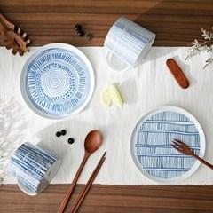 크래용 패턴 머그/접시 (2종 택1)
