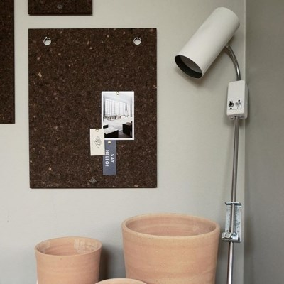 [LOW KEY] Black cork pin board - Medium (로우키 코르크 핀보드-M)
