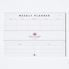 [LOW KEY] Weekly Planner (로우키 위클리 플래너)
