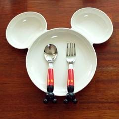 디즈니정품 미키 식판 1P 유아식기