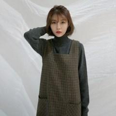 Weekly simple half-neck knit