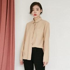[마이블린] 둥근 카라 셔츠 (3color)_(543169)