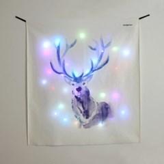 블루디어 LED 패브릭 액자 포스터 커튼 (90x100cm)