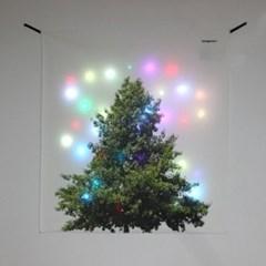 기본트리 LED 패브릭 액자 포스터 커튼 (90x100cm)