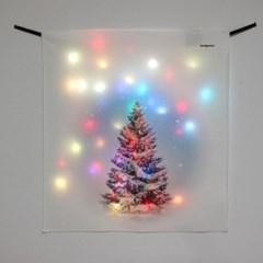 전구트리 LED 패브릭 액자 포스터 커튼 (58x66cm)