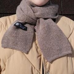 Wool mini muffler울100%
