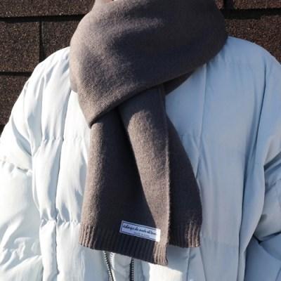 Wool warm muffler