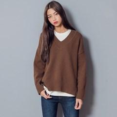 [로코식스] cozy wool v-neck knit/니트_(711896)