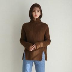 slit detail golgi knit