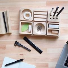 책상 사무 정리 연필꽂이 홀더 셋트