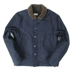 N-1 DECK BUTTON JACKET[NAVY]