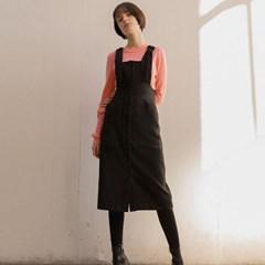 SUSPENDER DRESS (BLACK)_(800611)