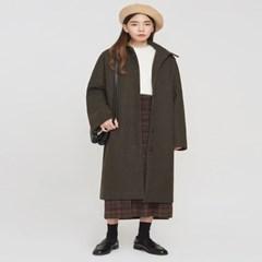 dear collar long coat_(801745)