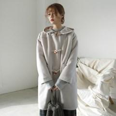 Mid basic duffle coat
