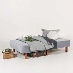 [두닷모노] 로디 일체형 침대_SS/그레이