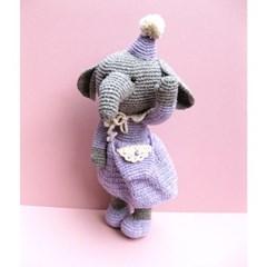 [손뜨개 DIY]손뜨개인형-코끼리야반가워