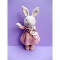 [손뜨개 DIY]손뜨개인형-토끼야반가워