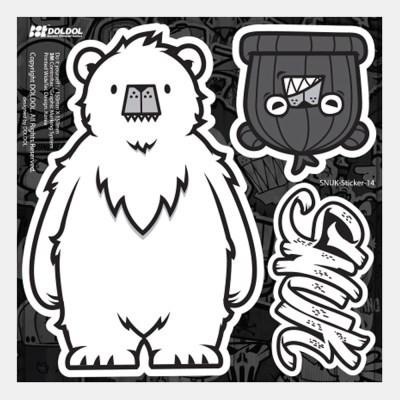 [그래피커] 21-SNUK-Sticker-02 스티커 스킨