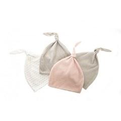 [에피키즈] 클래식도트 신생아 모자 (3색)