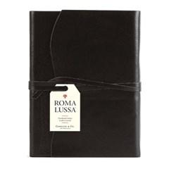 카발리니 저널-레더 로마 블랙 (Leather Roma Lussa Journals)