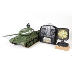 T34 러시아 배틀 탱크RC  (WTS101254TAN)