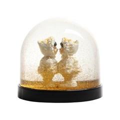[&Klevering] Wonderball Eskimo Gold (골드 스노우볼 에스키모)