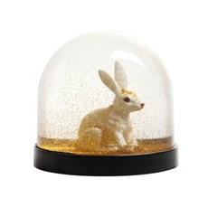 [&Klevering] Wonderball Rabilt Gold (골드 스노우볼/워터볼 토끼)