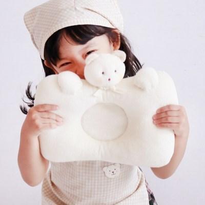 [쏘잉앤맘] 오가닉 곰돌이 짱구베개