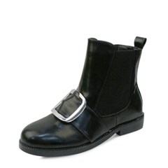 kami et muse Over square belted top ankle boots_KM17w203