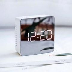 [스크래치] 무아스 미러클락 - Mirror Clock / 거울 + LED 시계