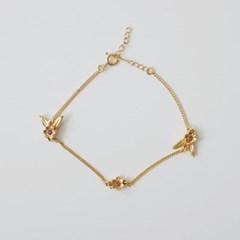 Flower Wing Bracelet