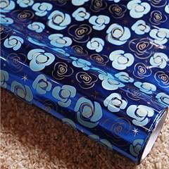 비닐 롤 포장지 - 화분싸개 장미