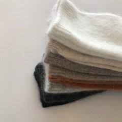 angora simple socks (3set)