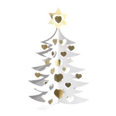 Christmas Tree mobile - White/Gold (크리스마스 트리모빌 골드)