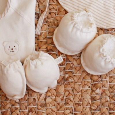 [쏘잉앤맘] DIY 오가닉 손싸개 발싸개 손발싸개 세트 만들기