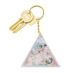 [도이] 아쿠아 화이트 열쇠고리 자동차 키링_(1137829)