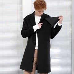 Flare Coat (black) 모직울코트 롱코트 오버사이즈코트