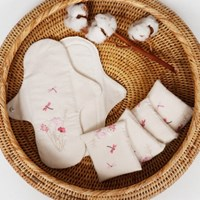 [쏘앵앤맘] DIY 꽃처럼 오가닉 면생리대 만들기